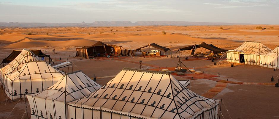 Erg Chigaga Luxury Desert Camp, the Sahara Desert, Morocco