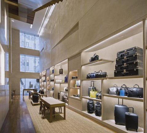 A Louis Vuitton store designed by Peter Marino Architect