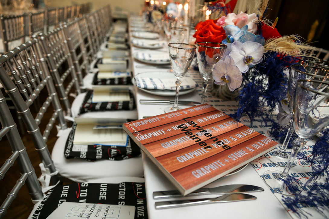 The Free Arts NYC annual dinner and auction