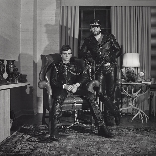 Brian Ridley and Lyle Heeter, 1979, by Robert Mapplethorpe. © Robert Mapplethorpe Foundation. Image courtesy of LACMA