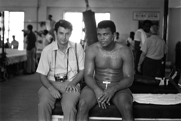 Danny Lyon and Muhammad Ali, Miami, 1970
