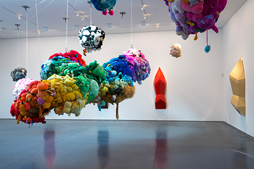 Deodorized Central Mass with Satellites (1991/1999) by Mike Kelley. Photo by Joshua White