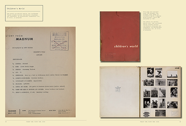 Children's World the book, as featured in Magnum Photobook: The Catalogue Raisonné
