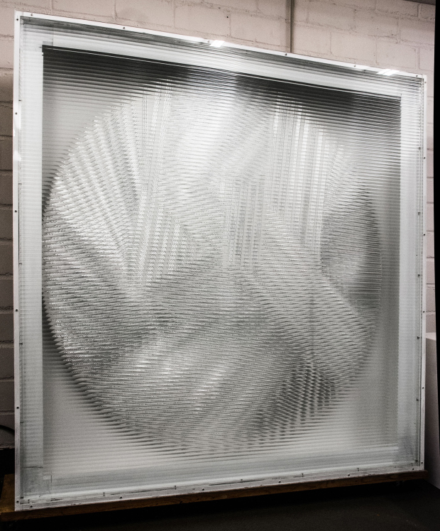 Silber Rotor (1964-80) by Heinz Mack. Image courtesy of Ben Brown Fine Arts