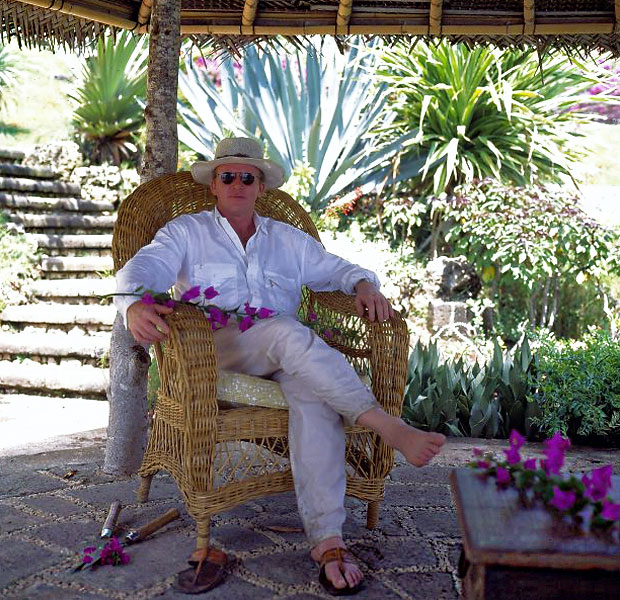 David Bowie's Mustique garden and other tales