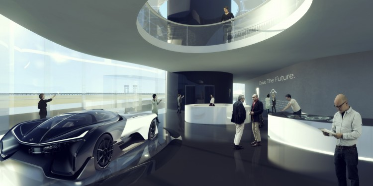 MAD's Faraday Future campus