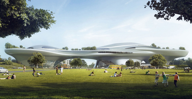 MAD Architects - Lucas Museum of Narrative Art