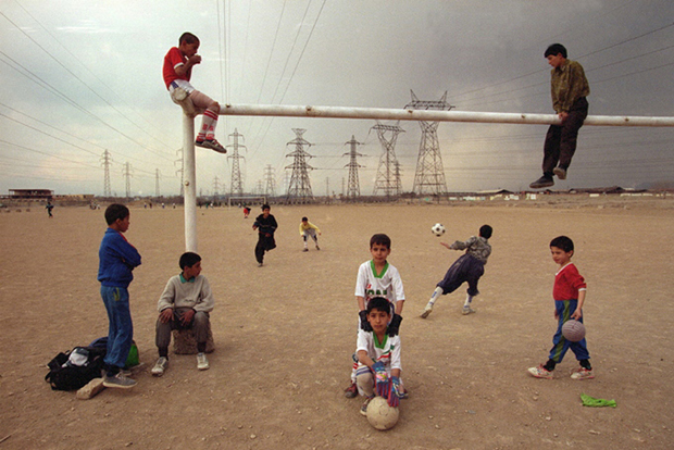 Abbas, Tehran, Iran (1998) from Magnum Football