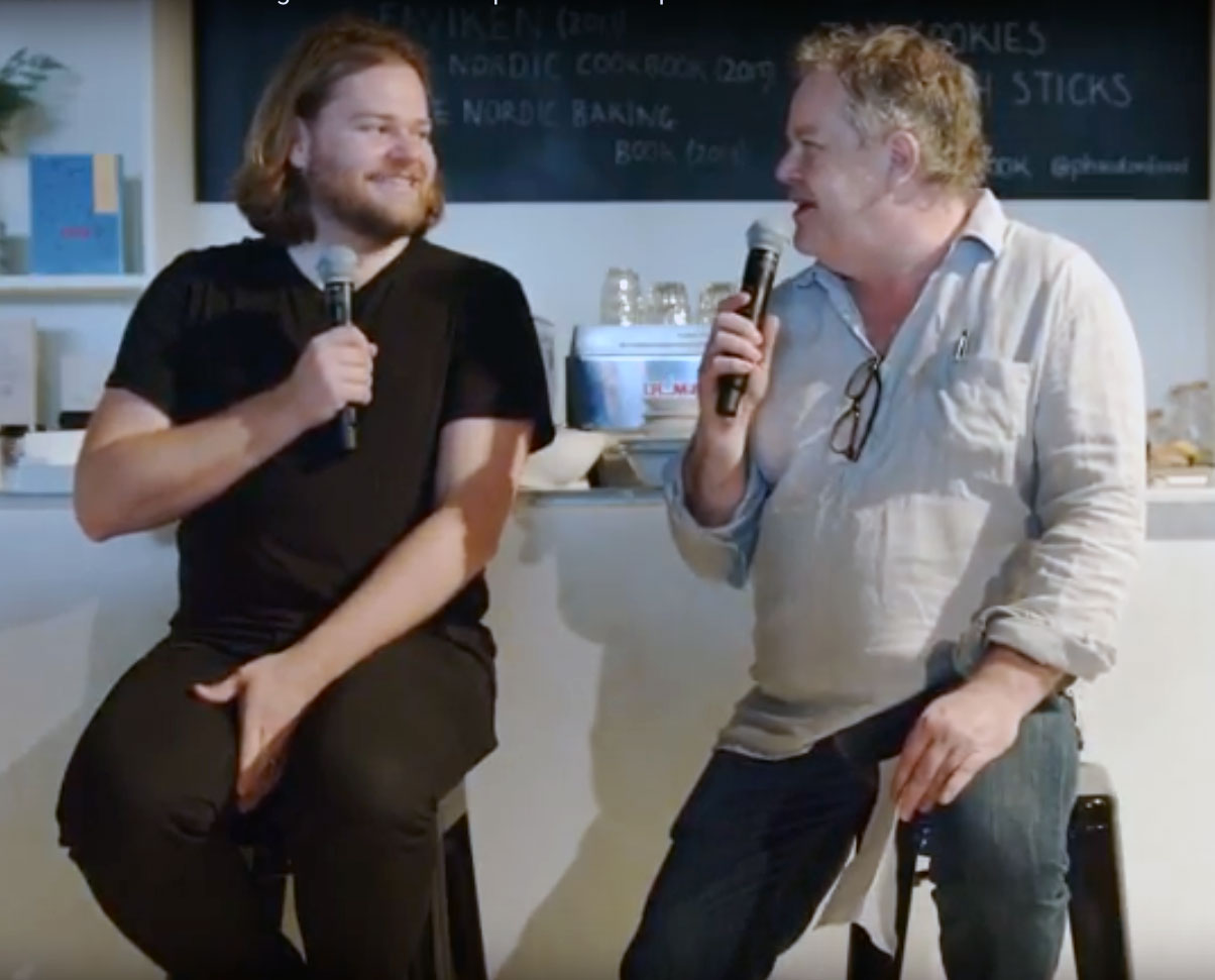 Magnus Nilsson and Stephen Harris