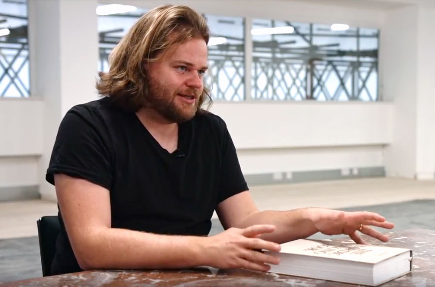 Magnus Nilsson with The Nordic Baking Book