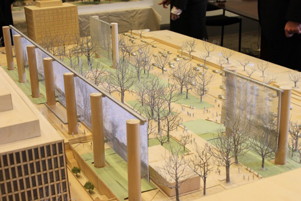Gehry's Eisenhower Memorial plans