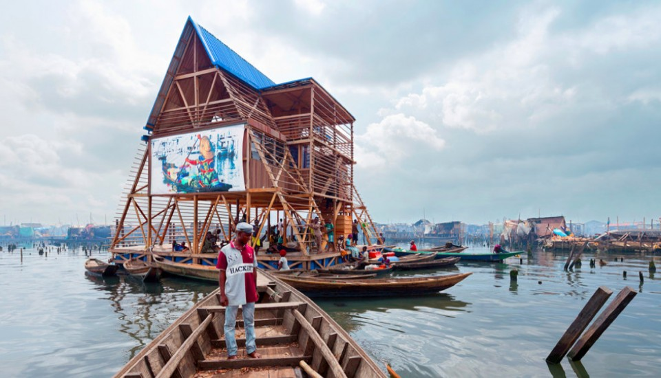 the Makoko Floating School, by Nlé architects