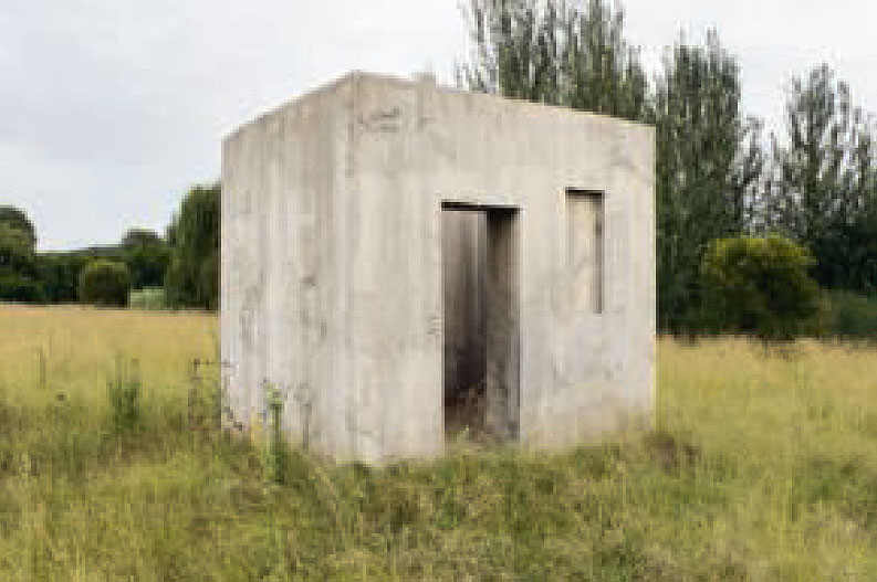 Mandela Cell, 2014, Nirox Foundation Sculpture Park, South Africa, by Jeremy Rose