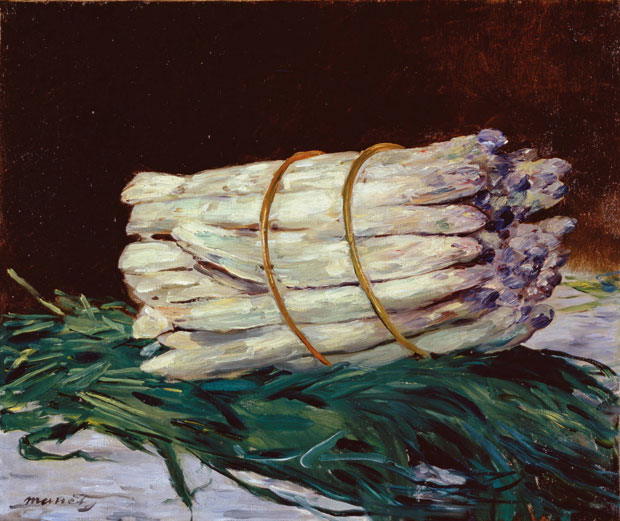 Édouard Manet Bunch of Asparagus 1880