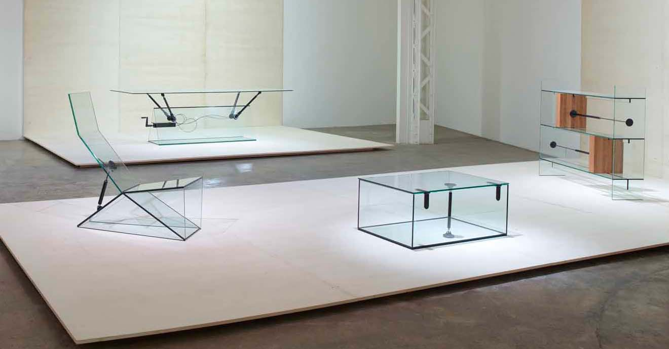Konstantin Grcic39s clear glass furniture collection Design