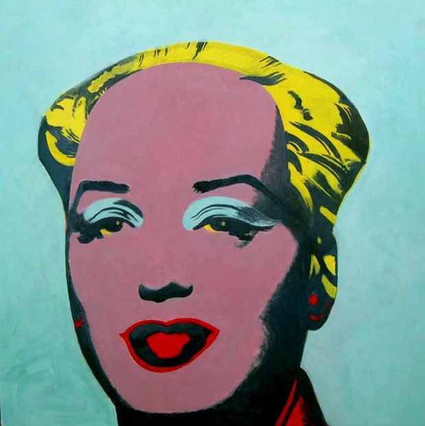 Yu Youhan Untitled (Mao Marilyn) 2005