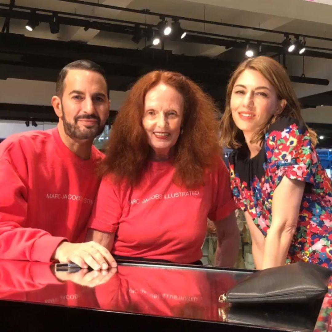 Marc Jacobs, Grace Coddington and Sofia Coppola