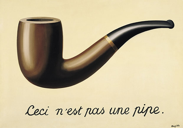 René Magritte - The Treachery of Images (1928-29)