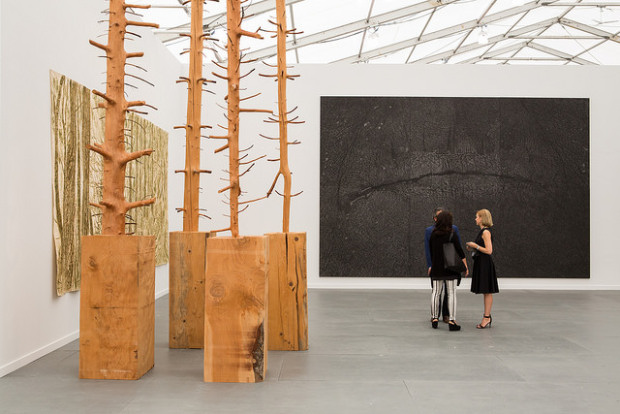 Who is showing what at Frieze New York