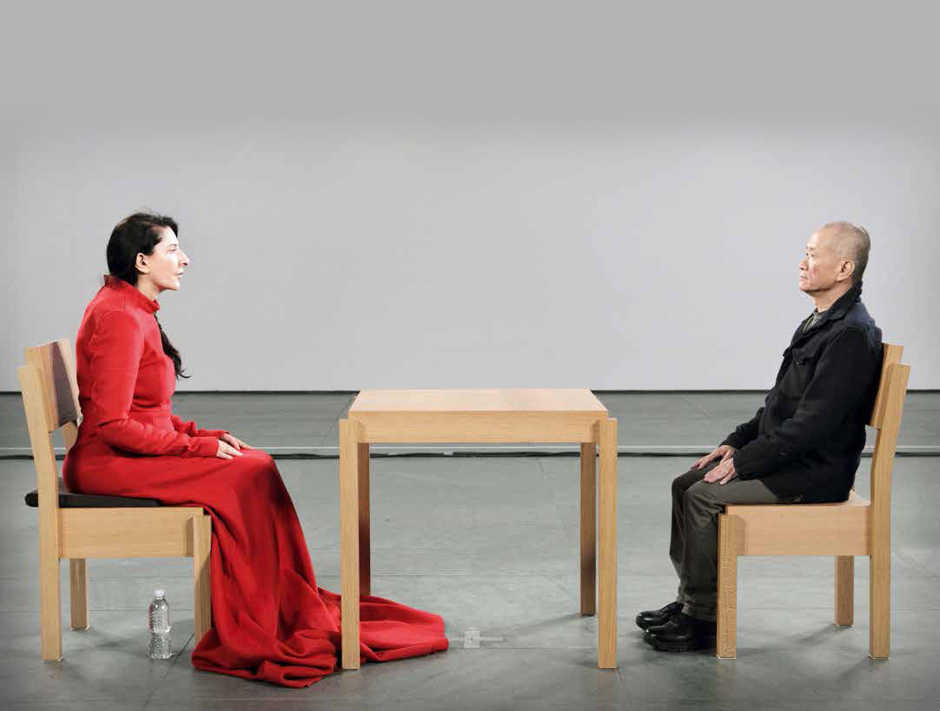 Marina Abramovich as featured in Akademie X Lessons in Art + Life