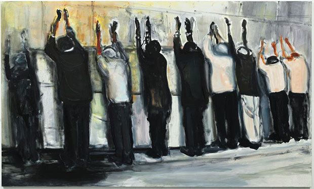 Wall Weeping (2009) - Marlene Dumas, courtesy Tate Britain and David Zwirner