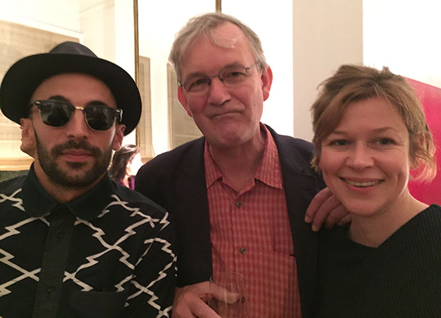 JR, Martin Parr and Hepworth Wakefield curator Sam Lackey