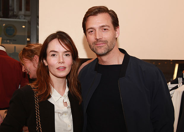 Patrick grant and Valene Kane at the Martin Parr Real Food launch at E.Tautz - photo by Jose Cuevas http://www.josecuevas.co.uk