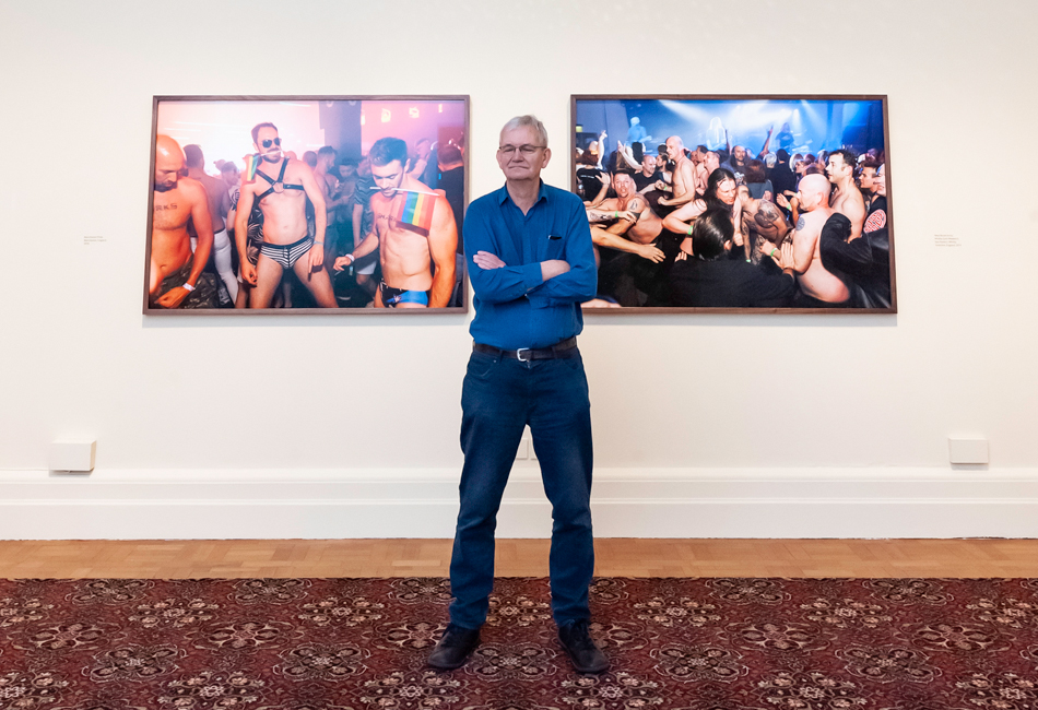 Martin Parr at the National Portrait Gallery