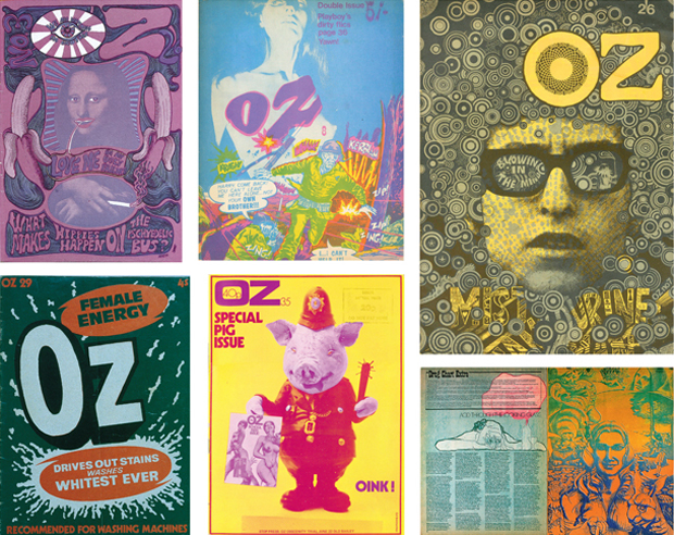 Oz covers and spread, from our Graphic Design Archive