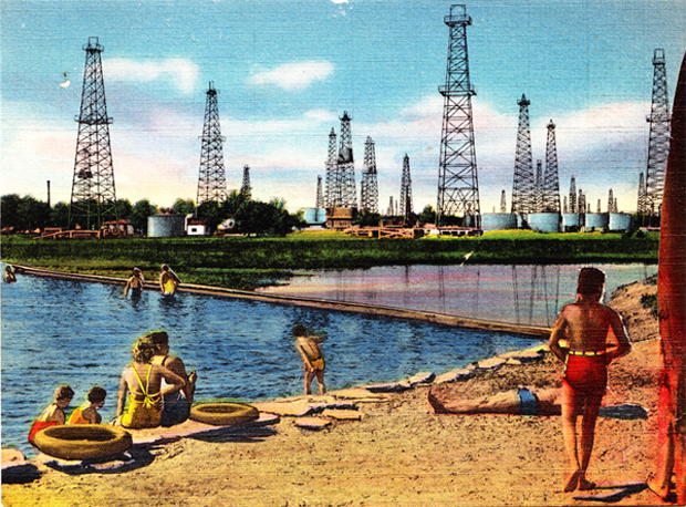 Mary Lydecker - New England Beach Oil Fields