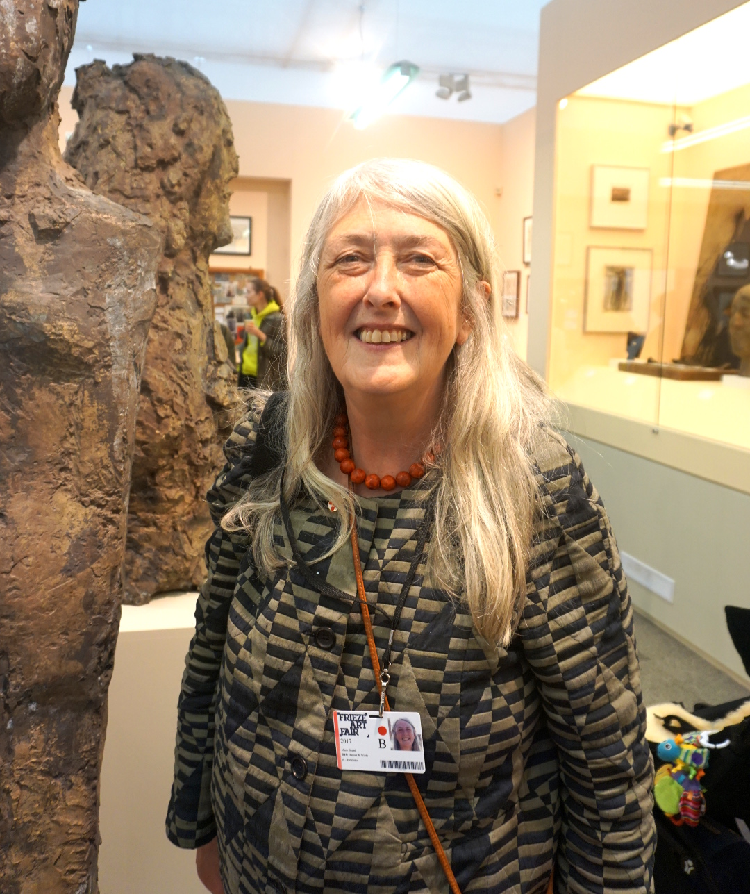 Mary Beard talks us through her 2017 Frieze show