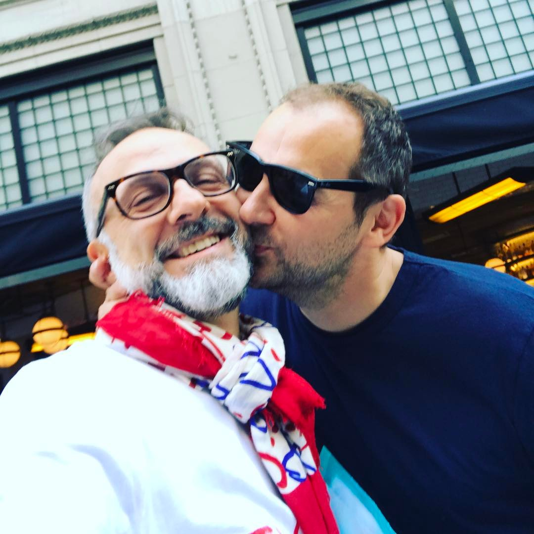 Massimo Bottura is shown the love by Daniel Humm