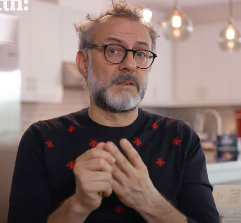 Massimo Bottura in the new video by ATTN: for Morton Salt