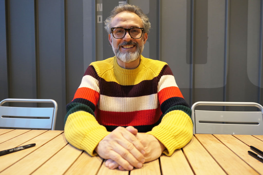 Massimo Bottura photo by Mat Smith