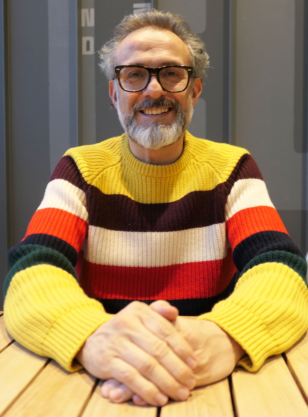 Massimo Bottura photographed in Chicago