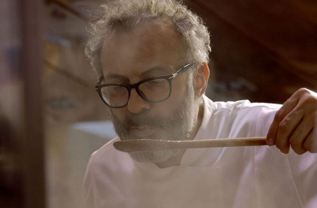 Massimo Bottura in Theater of Life. Image courtesy of Netflix