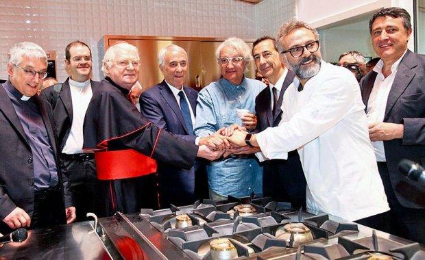 Massimo Bottura\'s soup kitchen goes international | Food | Agenda ...