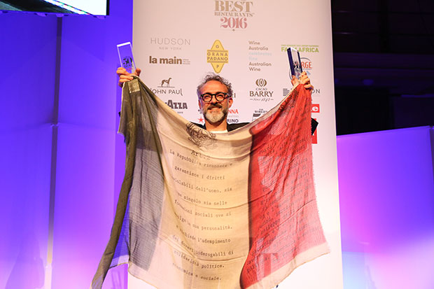 Massimo Bottura tops World's 50 Best Restaurants!
