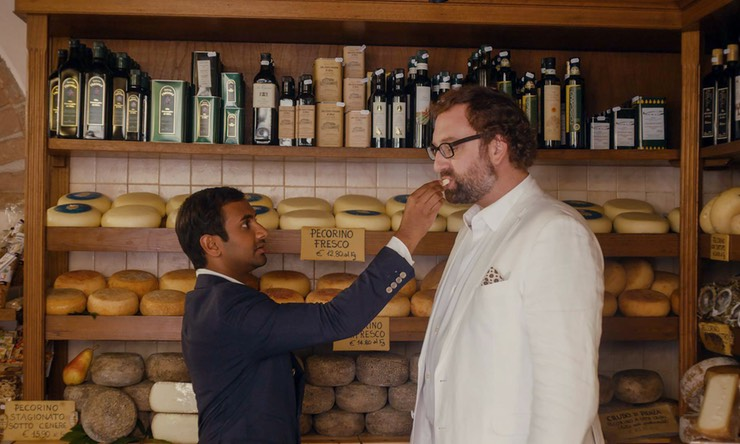 Ansari and Eric Wareheim in episode two, series two of Master of None. Image courtesy of Netflix