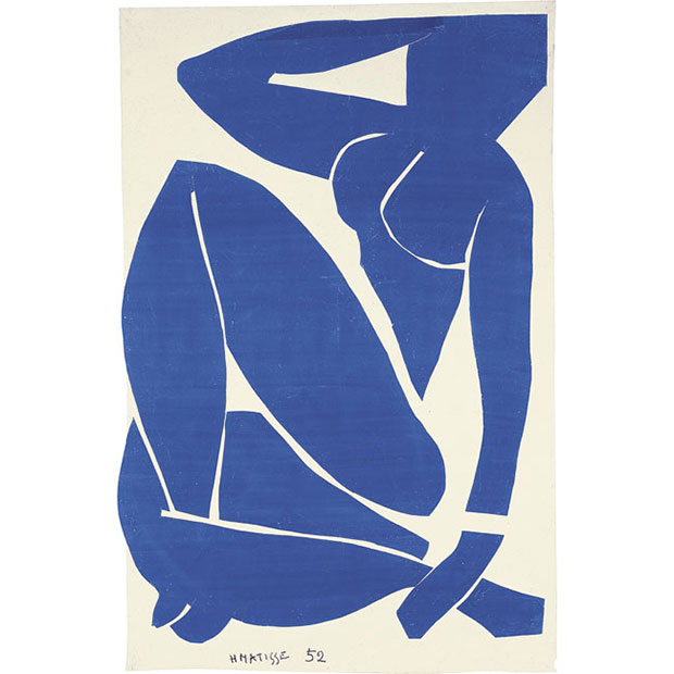 My Body of Art - Flavia Frigeri on Blue Nude III