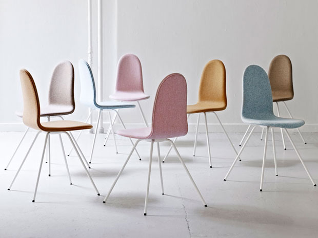 Arne jacobsen s iconic 1950s tongue chair is back for Arne jacobsen chaise