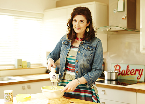 What To Bake & How to Bake It author Jane Hornby. Photo by Matt Russell