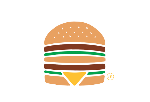 TBWA Paris's pictogram campaign for McDonalds
