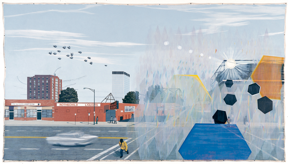 Kerry James Marshall, 7am Sunday Morning (2003)