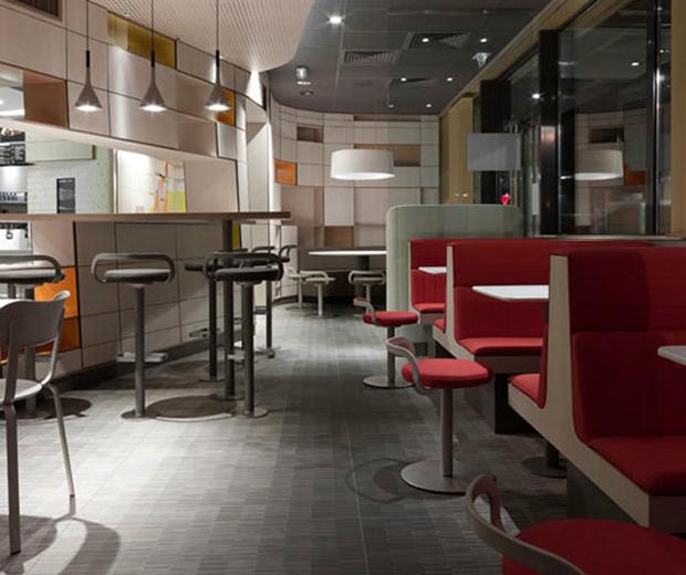 mcdonald 39 s furniture revamped by patrick norguet design agenda phaidon
