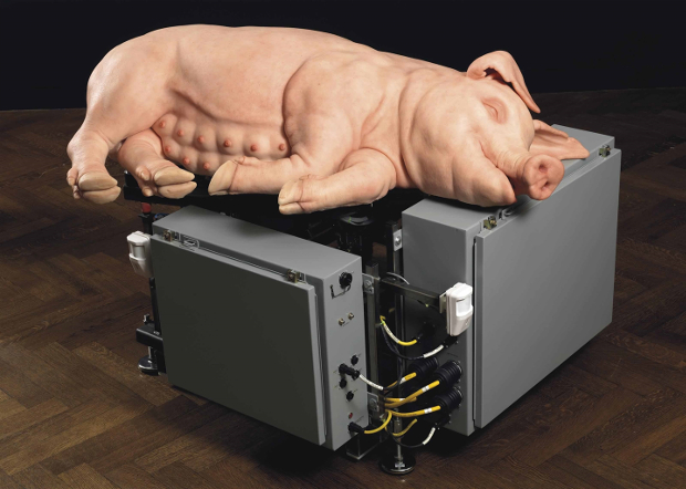 Mechanical Pig (2003-2005) by Paul McCarthy. Image courtesy of Christie's