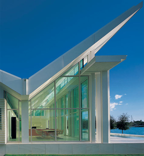 Take A Look Inside This Richard Meier House Architecture