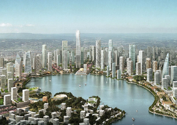 Is China's lakeside city the future of urban planning?