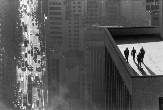 Men on a Rooftop - René Burri San Paulo 1960
