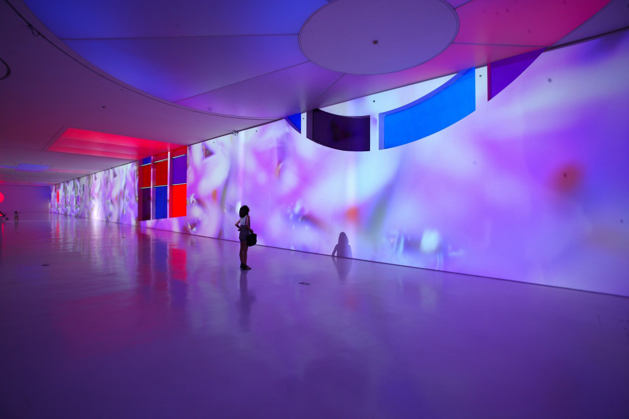 Mercy Mercy (2013) by Pipilotti Rist, from Gentle Wave in Your Eye Fluid at the Times Museum, Guangzhou